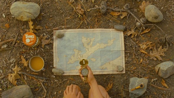 Map of New Penzance in Moonrise Kingdom