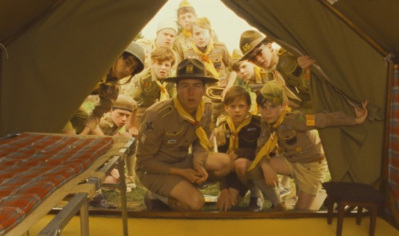 Edward Norton as Scoutmaster Ward in Moonrise Kingdom